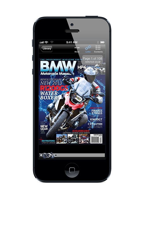 BMW Motorcycle Magazine updated for iPhone 5, more